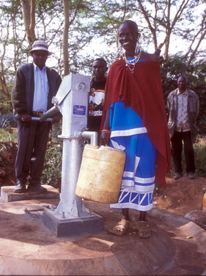 Village water project